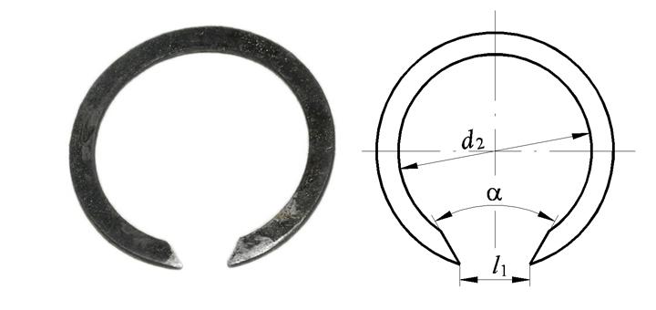 Стопорное кольцо: виды, гост, устройство, инструмент для монтажа