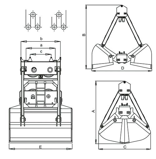 Грейферный погрузчик на базе мтз 82:производители, характеристики