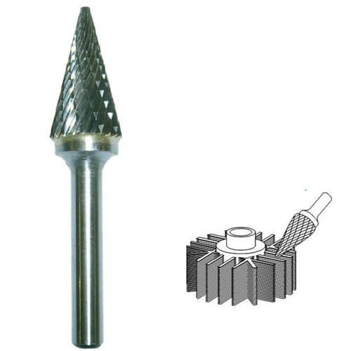 Шарошка для дрели по металлу: виды, назначение