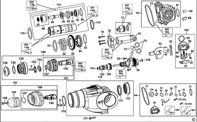 Как правильно разобрать и отремонтировать перфоратор bosch своими руками