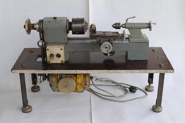 Электронный микроскоп в гараже. токарная мастерская
