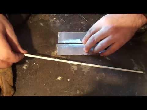 Как варить алюминий электродом