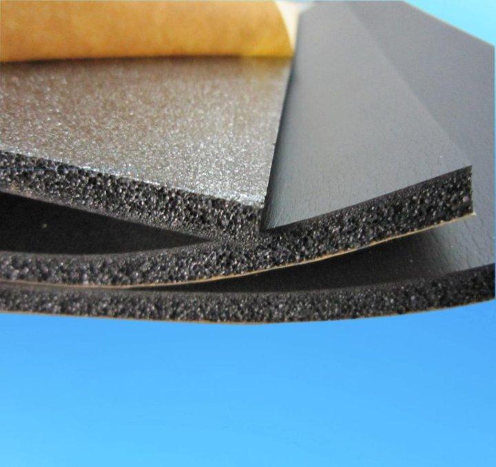 Пористая резина для звукоизоляции стен и в качестве утеплителя: характеристики, гост, цена и виды - листовая, рулонная, шнуровая, другие формы выпуска