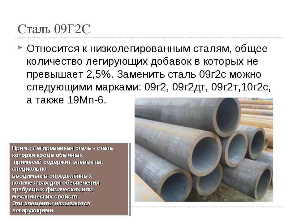 Сталь 09г2с: свойства, применение, особенности производства