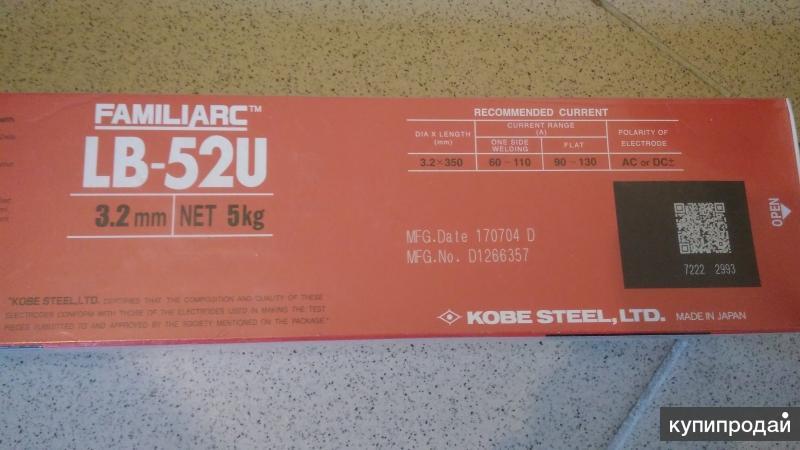 Электроды lb-52u: описание, характеристики, назначение