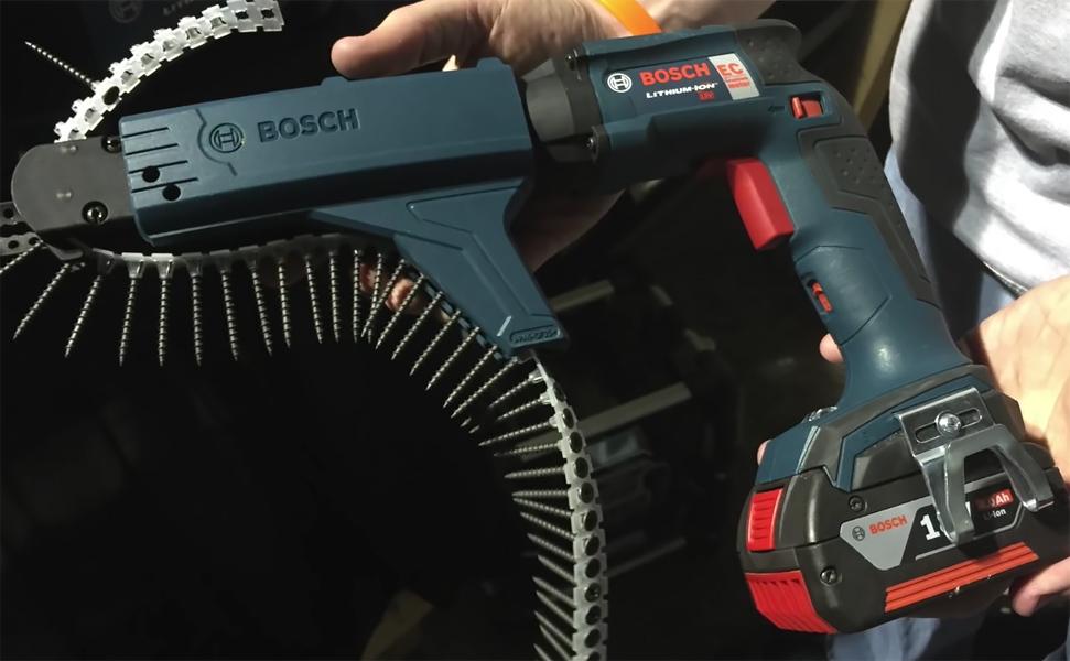 Ленточный шуруповерт с автоматической подачей саморезов: принцип работы аккумуляторных и электрических моделей