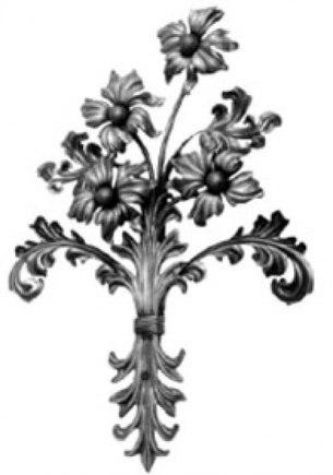 Кованые цветы, букеты