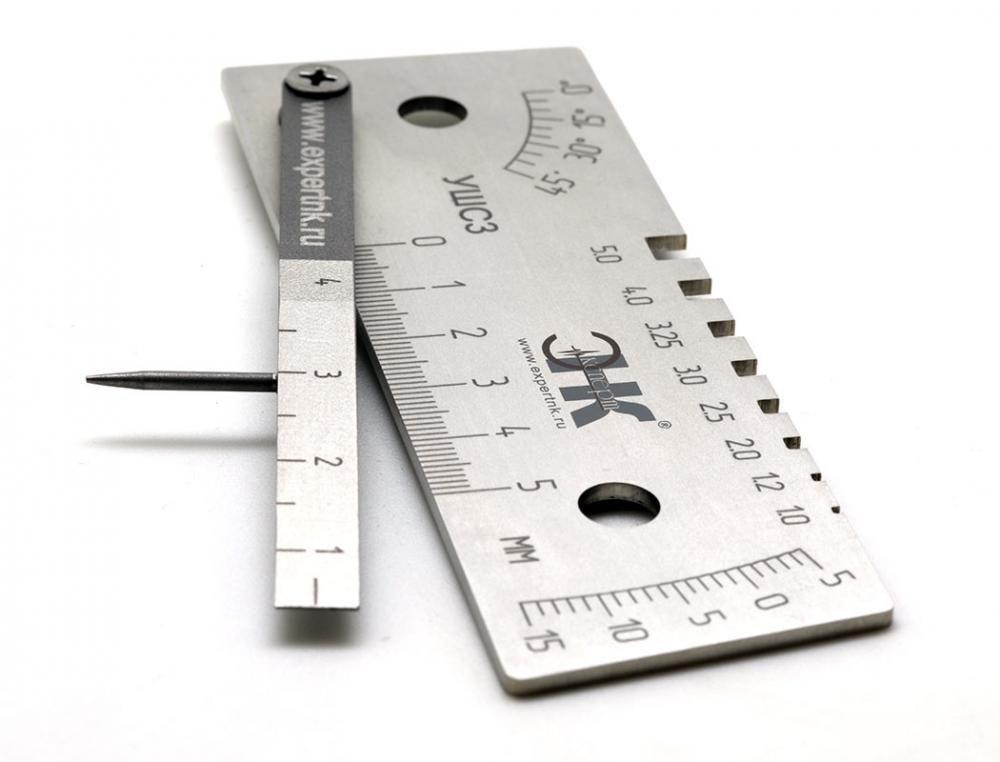 Ушс-3. универсальный шаблон сварщика   проинструмент