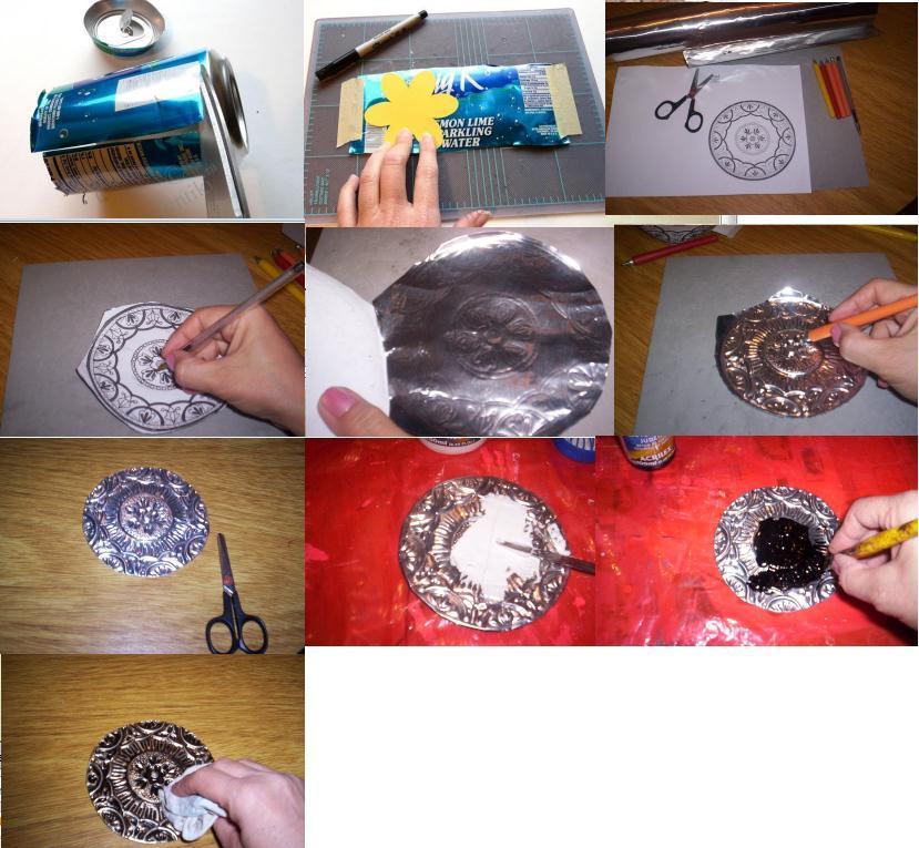Картины из фольги своими руками для начинающих. картина из фольги своими руками