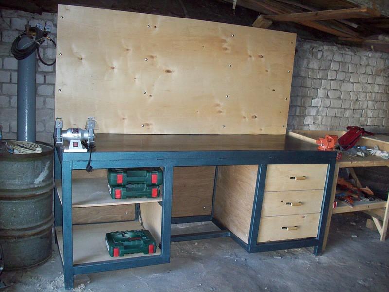 Приспособления для гаража своими руками: чертежи и фото
