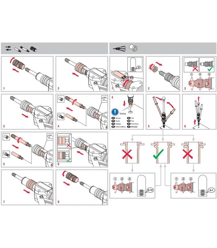 Вытяжные заклепки (50 фото): размеры алюминиевых и стальных заклепок, нержавеющие изделия по госту,  комбинированные и глухие