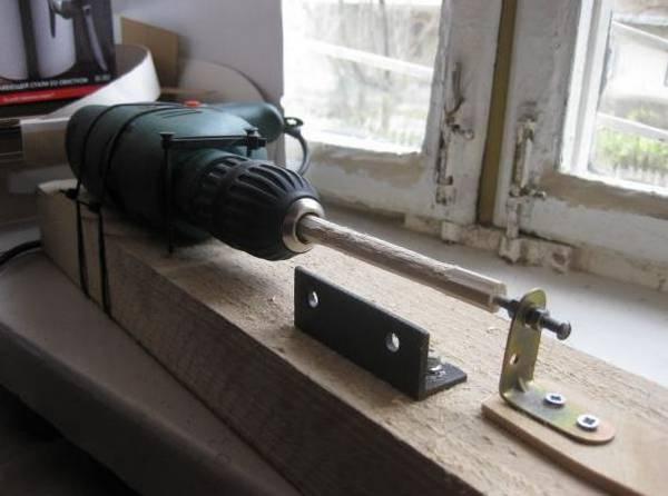 Токарный станок из дрели своими руками: видео инструкция как сделать самому