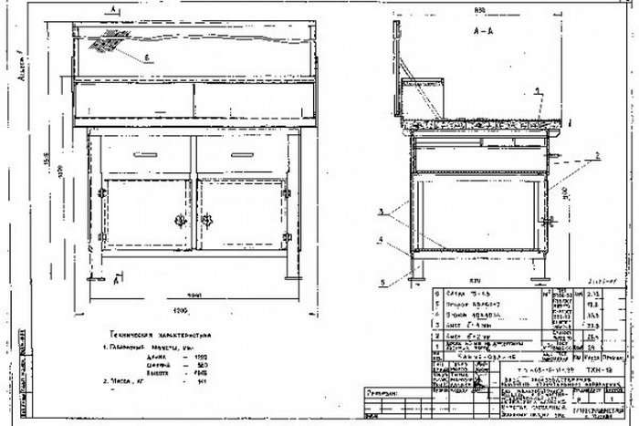 Изготовление верстака в гараж своими руками, чертежи и размеры, материалы и инструменты