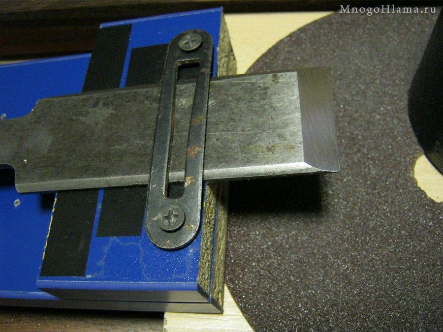 Регулировка, замена и заточка ножей электрорубанка