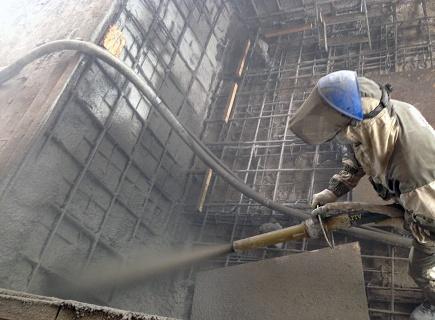 Торкретирование или набрызг-бетон: технология процесса