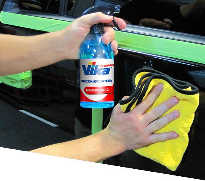 Чем обезжирить поверхности кузова автомобиля перед покраской: виды растворителей, критерии выбора средства