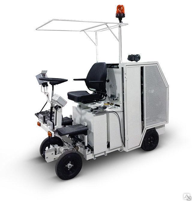 Дорожно-разметочная машина. технологии работ