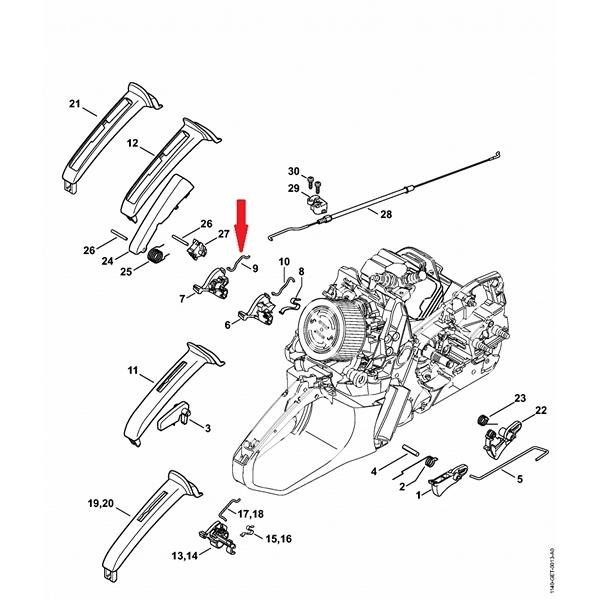 Конструкция и устройство бензопилы