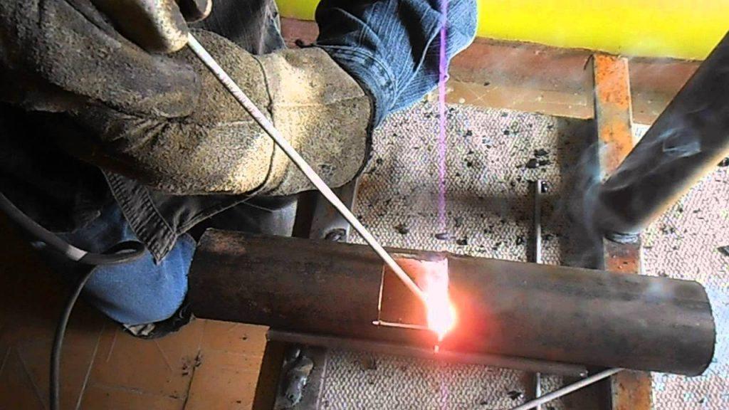 Сварка тонкого листового металла электродом при помощи инвертора