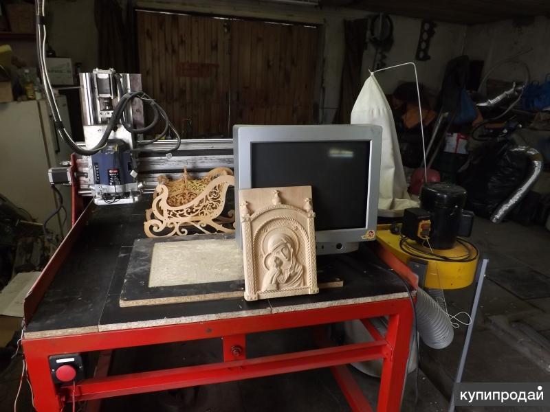 Фрезерный станок по дереву с чпу для домашней мастерской, цена нового, бу