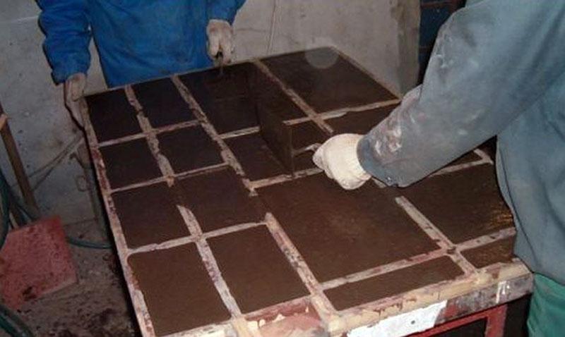 Мрамор из бетона технология производства искусственного мрамора