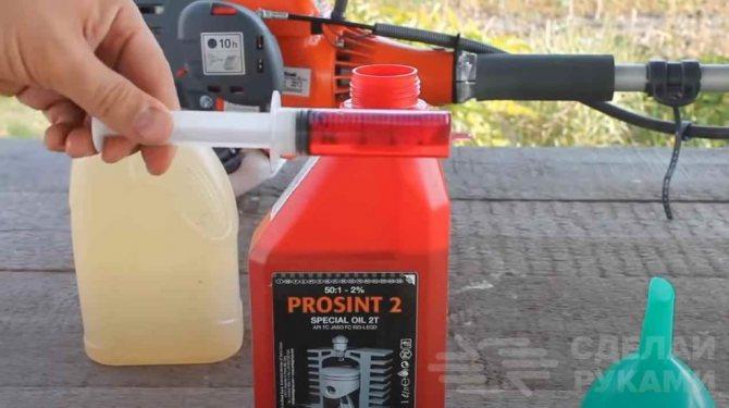 Какой бензин для бензопилы можно использовать: 92 или 95й, сколько и какого масла нужно добавлять в топливо и как правильно развести смесь