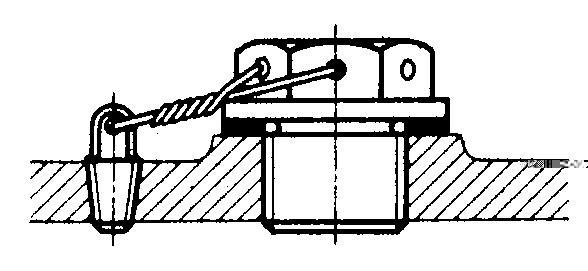 Ост 1 39502-77стопорение болтов, винтов, шпилек, штифов и гаек