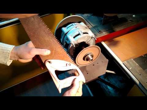 Как заточить зубья на ножовке по дереву самостоятельно инструкция