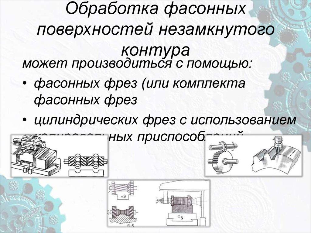 Обработка фасонных поверхностей | полезные статьи :: услуги обработки металла