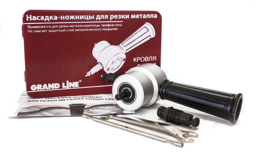 Преимущества насадки на дрель для резки металла