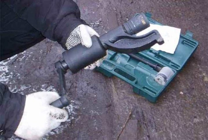 Ручной гайковёрт. мясорубка дальнобойщика   проинструмент
