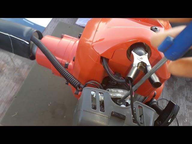 Ремонт карбюратора бензокосы хускварна 128r своими руками
