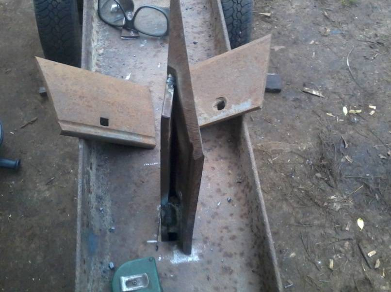 Чертежи и инструкция по изготовлению своими руками механического дровокола