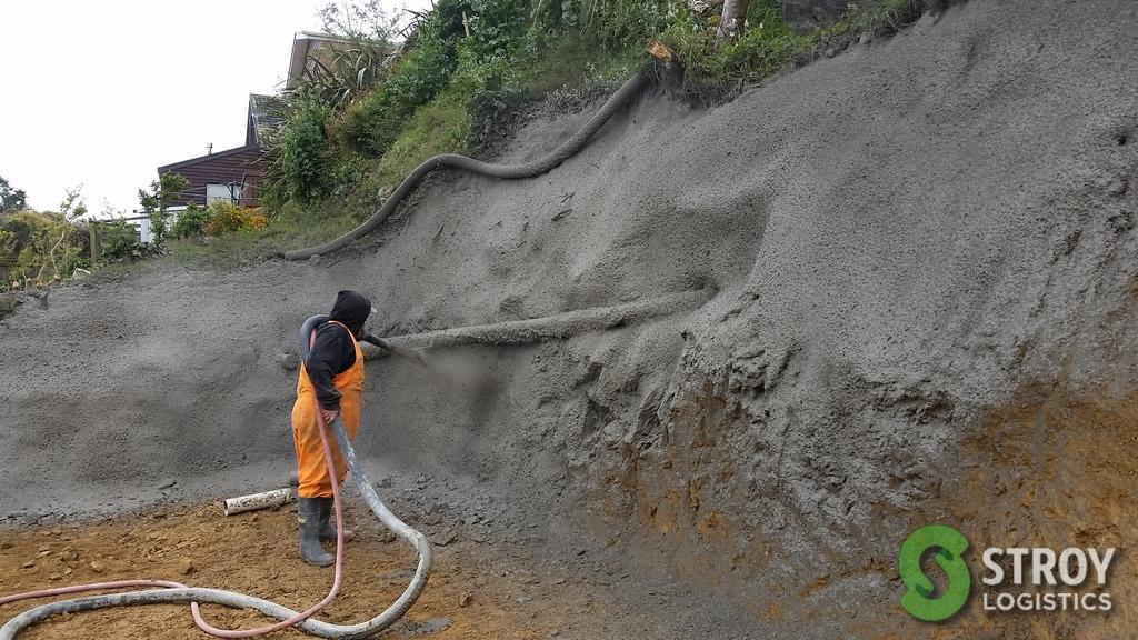 Торкрет (набрызг) бетон, торкретирование бетона: что это такое, технология | все о бетоне