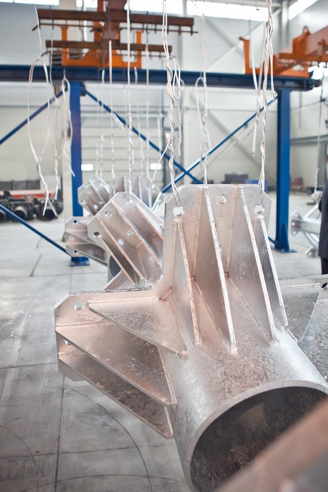 Основные технологии горячего цинкования металлоконструкций