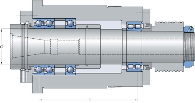 Токарный шпиндельный узел: эксплуатационные свойства  — vkmp