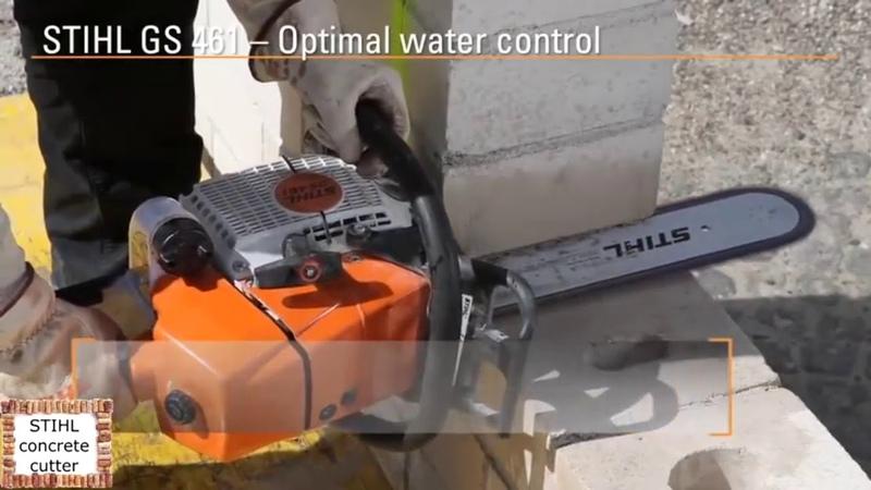 Как резать бетон болгаркой без пыли