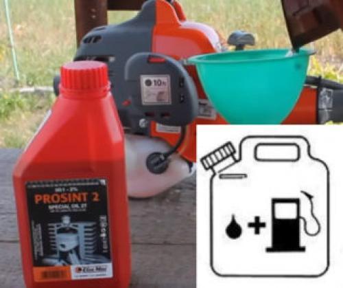 Как разбавить бензин с маслом для бензопилы : пропорции, тип масла