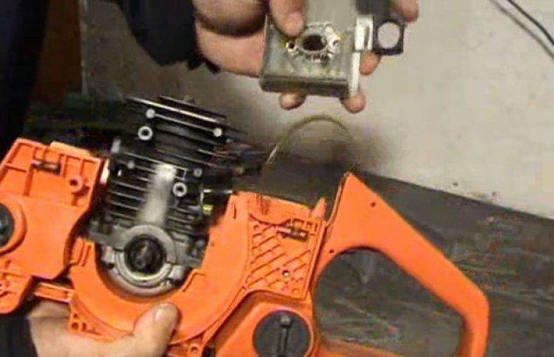 Устройство бензопилы и ремонт инструмента своими руками