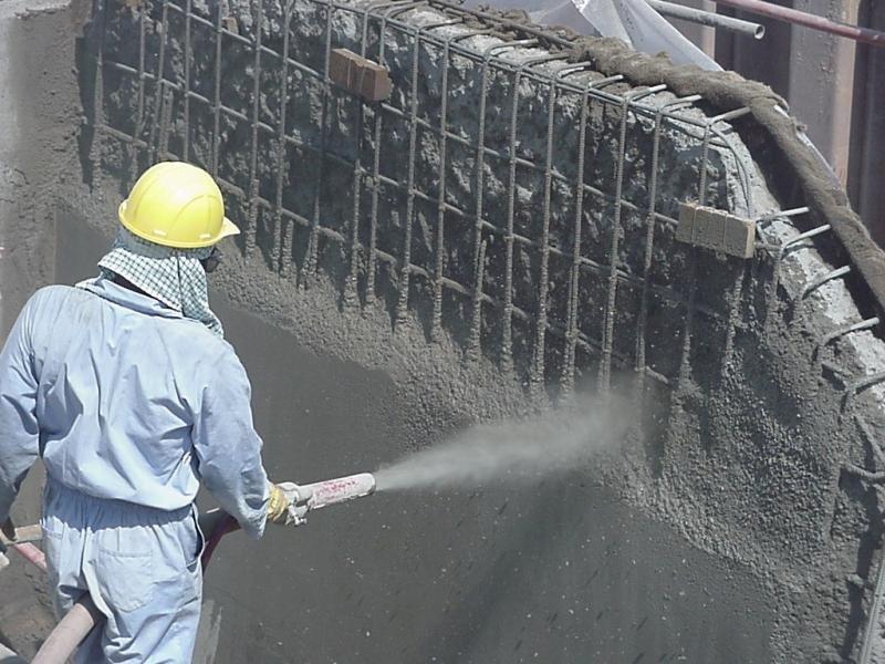 Торкрет-бетон (набрызг-бетон)