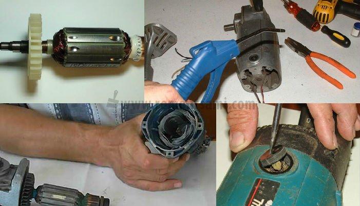 Щетки электродвигателя — причины искрения, методы проверки и устранения