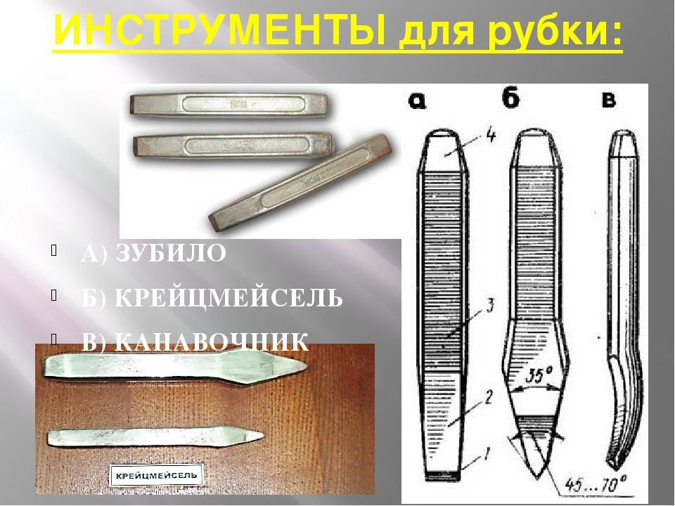 Слесарное зубило – полезные свойства ударного инструмента! виды зубило