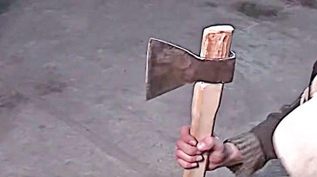 Как сделать топор: изготовление топорища и проведение заточки