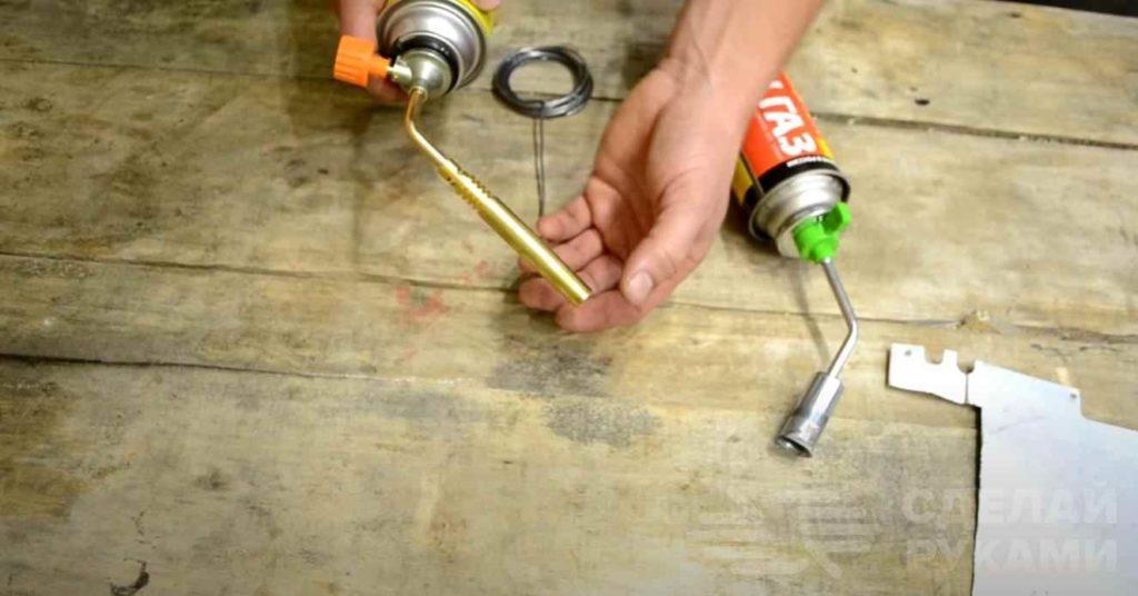 Пайка алюминия: припой, флюс, горелки