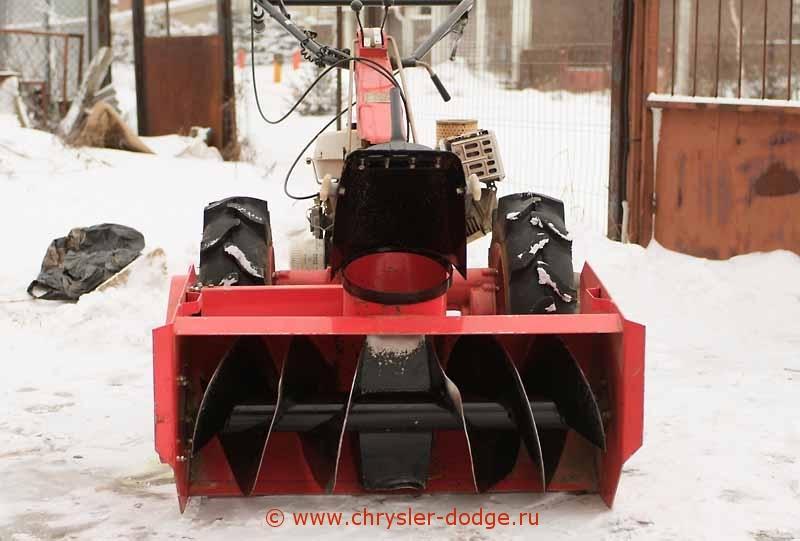 Как собрать снегоуборщик для мотоблока своими руками