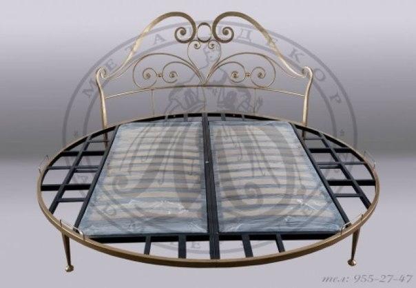 Кованая кровать в интерьере, как правильно выбрать форму и дизайн