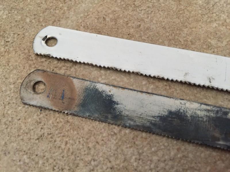 Как просверлить ножовочное полотно по металлу? - справочник по металлообработке и оборудованию