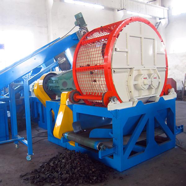 Бизнес по переработке шин в резиновую крошку