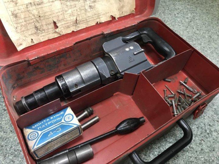 Монтажный пистолет по бетону: назначение, виды