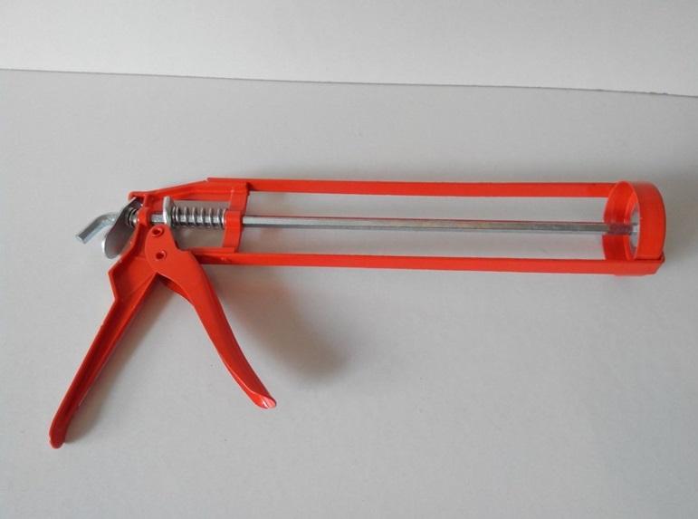 Пистолет для выдавливания клея. пистолет для жидких гвоздей